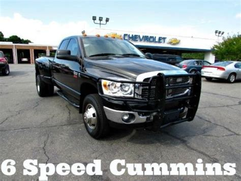 where to buy car manuals 2009 dodge ram 3500 interior lighting purchase used 2009 dodge ram 3500 6 speed manual cummins turbo diesel 4x4 dually pickup truck in