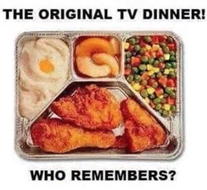 tv dinner trays
