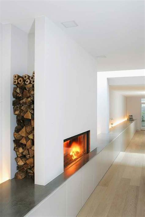 fireplace storage modern fireplace with firewood log storage discreet alcove