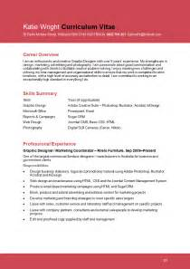 Sle Of Graphic Designer Resume by Resume Format Resume Format Graphic Designer