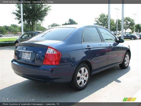 2004 Kia Spectra Lx 2004 Kia Spectra Lx Sedan In Imperial Blue Photo No