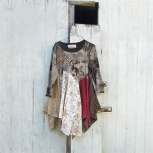 Patchwork Fashion - rodeo upcycled clothing patchwork dress