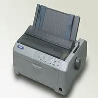 Printer Epson Fx 875 9 pin dot matrix epson