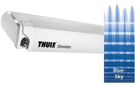 omnistore markisen thule omnistor 6200 markise wei 223 325cm blue sky