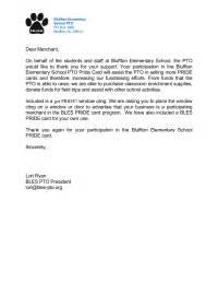 Appreciation Letter Committee Members merchant thank you letter thank you letter for local merchants