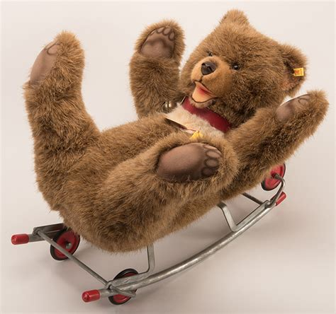 steiff knopf steiff rocking with wheels germany steiff knopf im oh