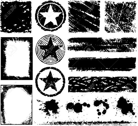grunge design elements vector splatter grunge design clipart panda free clipart images