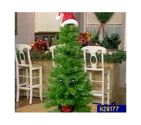quot douglas fir quot talking christmas tree qvc com