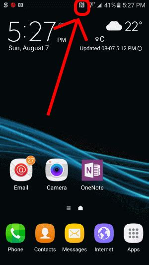 solved what is the n icon block at the top of my samsung android phone up running