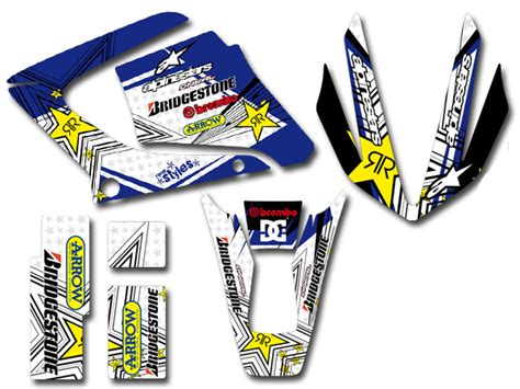 Yamaha Dt 125 R Aufkleber by Yamaha Dt 125 R Re X Full Racing Dekor Decal Kit Sticker