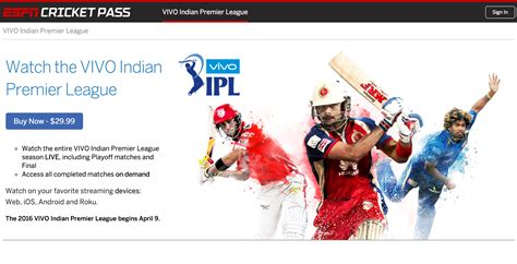 cricket home page espn front row