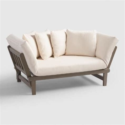 World Market Sleeper Sofa by Graywash Studio Day Sofa World Market