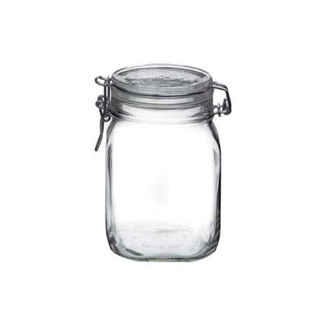claque ottomane canning jar l bormioli fido canning jar with blue