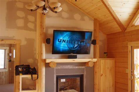 Installing A Tv A Fireplace by Maine Home Theater And Install It S What We Do