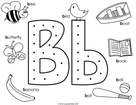 coloring pages for letter b b for barn on letter coloring page alphabet coloring