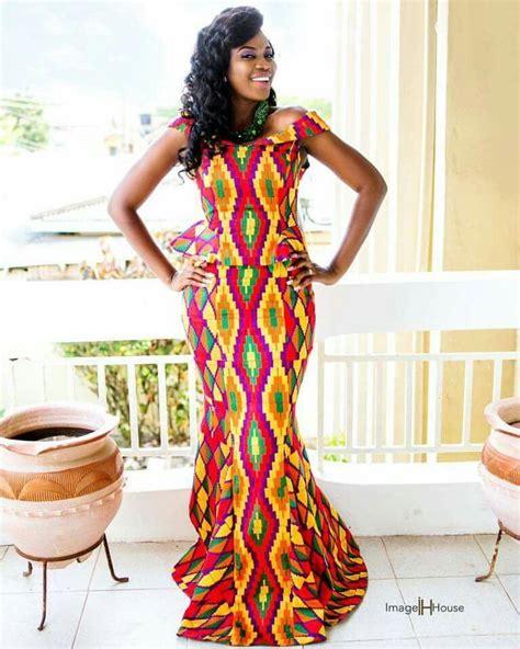 kente dresses styles pin by sleek africa on kente fashion ghana pinterest