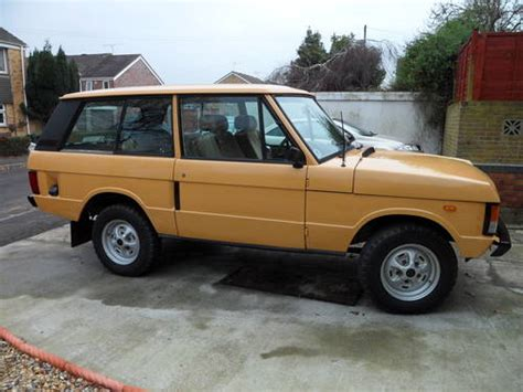 80s land rover 1980 range rover 2 door sold car and