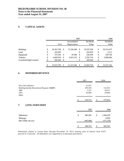 2005 06 audited financial statements template
