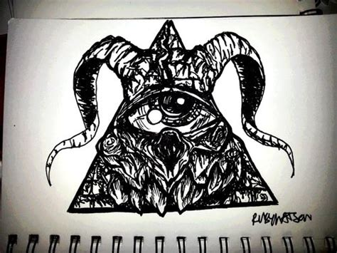 satanic cross tattoo designs satanic illuminati by frankwaygerardiero deviantart