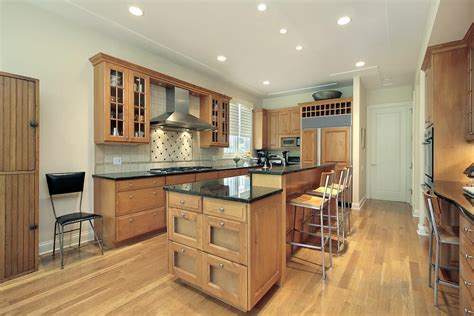 Kitchen Color Ideas With Light Wood Cabinets 43 Quot New And Spacious Quot Light Wood Custom Kitchen Designs