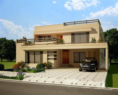 House Plans Two Story Contemporary Homes Designs Exterior Views