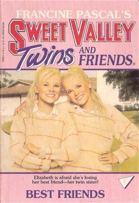 sweet a books best friends sweet valley 1 by francine pascal