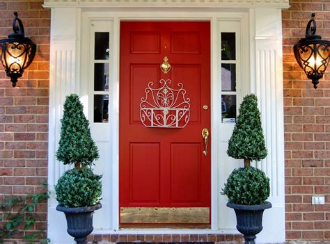 red door home decor amazing front doors design architecture interior design