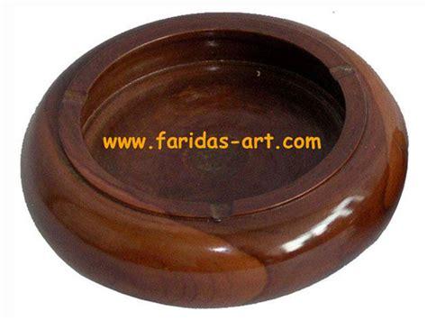 Asbak Kayu Motif faridas jual ukiran kayu jati furniture relief