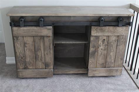 barn door console table barn door console forest trek woodwork