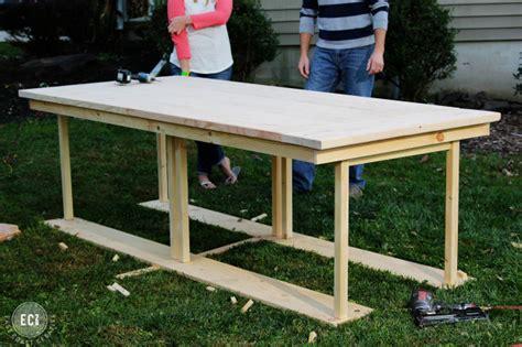diy kitchen table ikea legs diy farmhouse table ikea hack