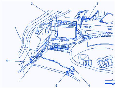 chevrolet malibu  electrical circuit wiring diagram carfusebox