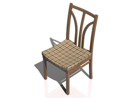 sedia 3d sedie 3d sedia in legno acca software