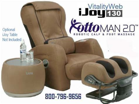 New Ijoy 130 Robotic Human Touch Massage Chair Recliner By