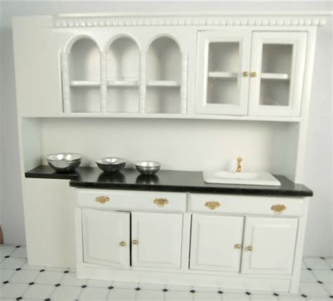 dollhouse furniture kitchen cabinets with sink miniature