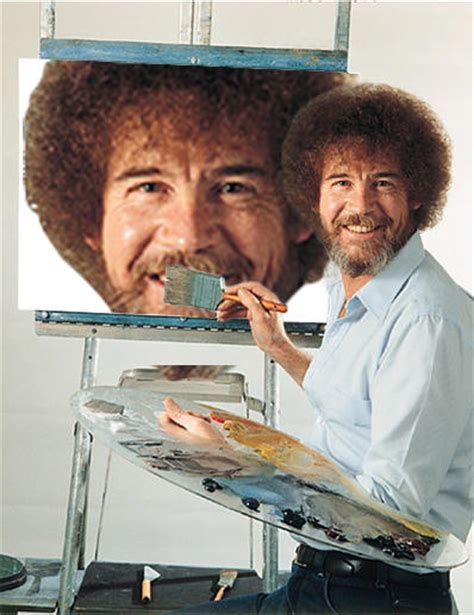 bob ross painting in photoshop photoshop bob ross your meme