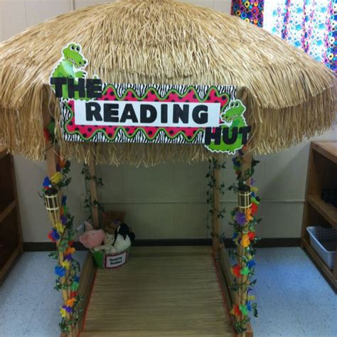 themes for reading day a reading hut for my kindergarten classroom i have this