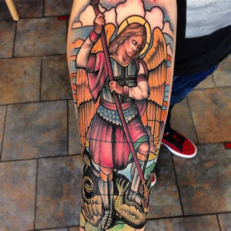 95 best saint michael tattoos designs amp meanings 2018