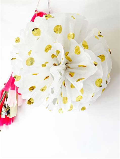 Pompom Polkadot Gold 10 Medium 243 best images about kate spade inspired bridal shower ideas on kate spade bridal