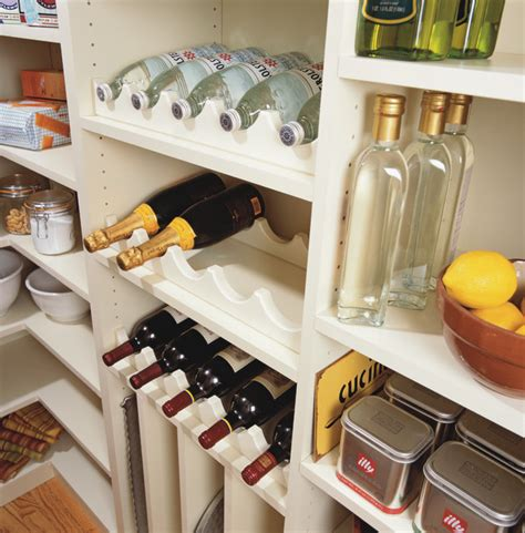 Pantry Wine Storage by Pantry Bottle Storage Traditional New York By