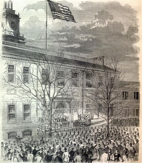 abraham lincoln and the union president lincoln raising union flag