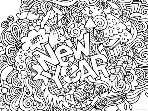new year coloring page happy new year 2019 coloring pages 1 1 1 1