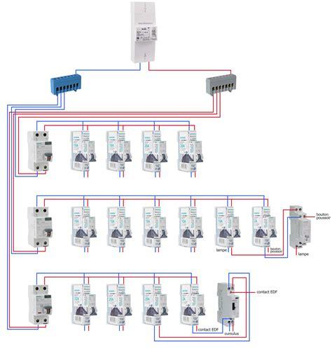 plan tableau electrique 4348 plan tableau electrique schema branchement cablage
