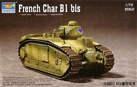 Battalion Bt 1001g Black Gray trumpeter char b1bis kit no 07263