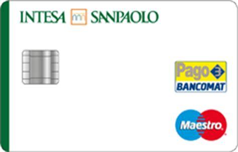 carte di credito intesa carte di debito di intesa sanpaolo parte i