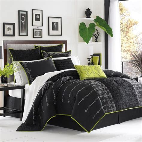 black and green comforter sets 22 best kitchen table images on pinterest