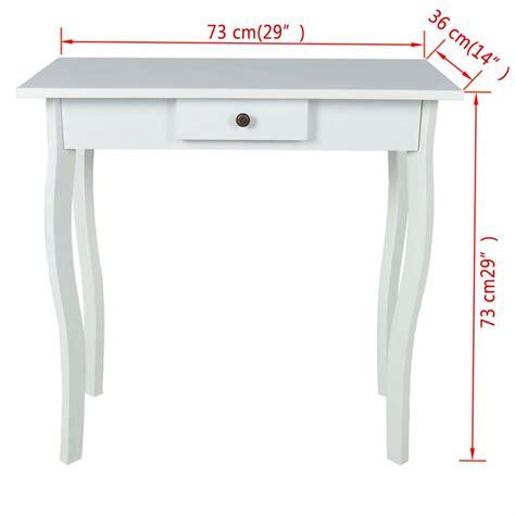 tavolini per ingresso legno mdf bianco vidaxl it
