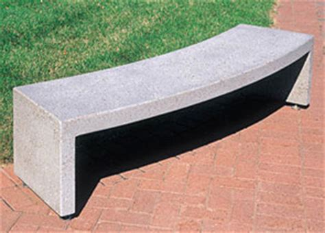 precast concrete benches precast curved benches concrete park benches belson
