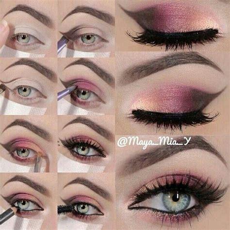 tutorial makeup romantic romantic eye makeup tutorial hair make up pinterest