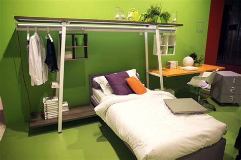 smart space saving bed hides a walk in closet underneath an organized wardrobe 15 space savvy and stylish closet ideas