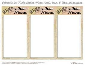 free printable menu cards templates 7 best images of printable menu cards free printable
